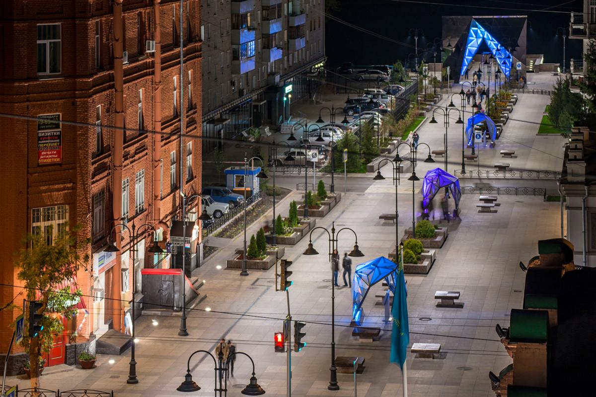 Фото: Пешеходная улица Чокана Валиханова