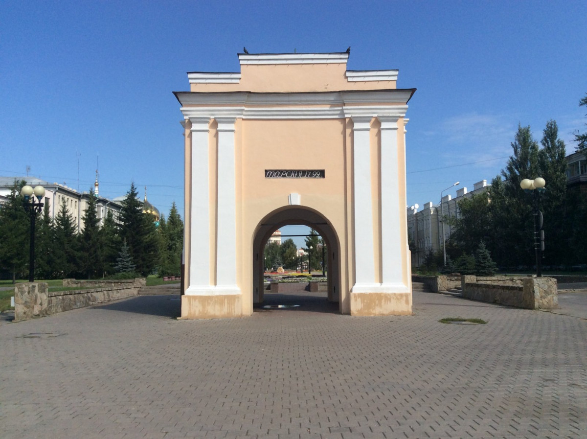 Фото: Тарские ворота