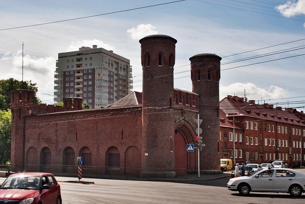 Фото: Закхаймские ворота