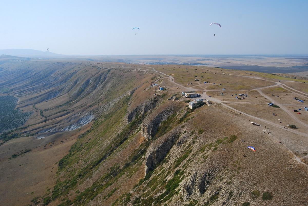 Фото: Гора Клементьева на хребте Узун-Сырт